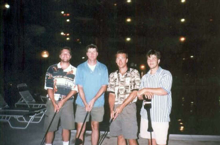 From left: Willie, Jase, Alan and Jep. Photo: Courtesy Of The Robertson Family/ A&E