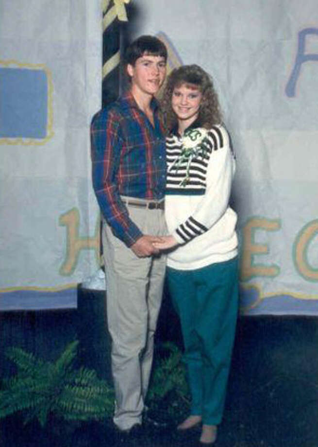 Missy and Jase as high school sweethearts. Photo: Courtesy Of The Robertson Family/ A&E