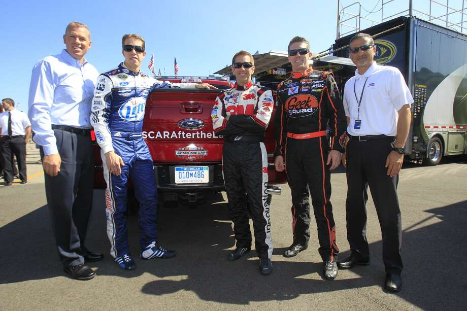 From left: Brad Keselowski, Greg Biffle and Carl Edwards are the three of the Sprint Cup series' best drivers. (Photo courtesy of NASCAR)