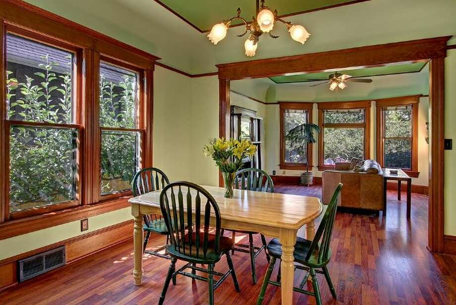 Dining room of 418 10th Ave. E.of  It's listed for $789,999, although a sale is pending. Photo: Courtesy Erick Hazelton, Windermere Real Estate