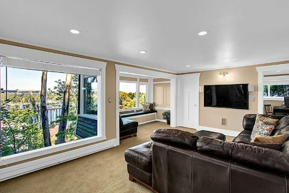 Media room of 2448 Delmar Drive E. It's listed for $799,000. Photo: Courtesy Steve Leland,  Windermere Real Estate