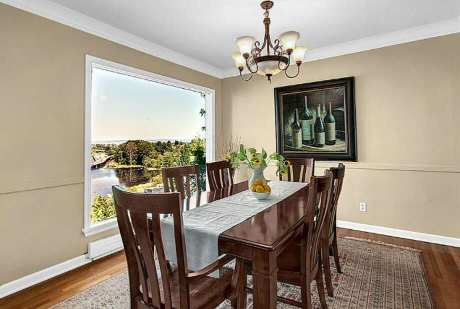 Dining room of 2448 Delmar Drive E. It's listed for $799,000. Photo: Courtesy Steve Leland, Windermere Real Estate