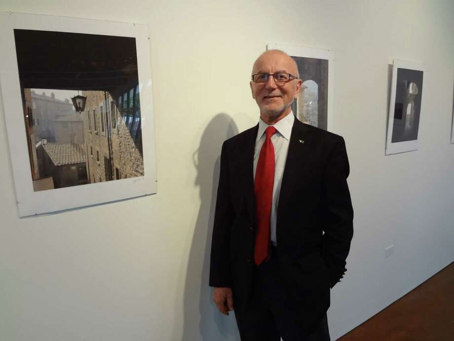 UTSA executive vice provost Julius Gribou is one of three administrators showing their photography at Gallery Nord. Photo: Steve Bennett / San Antonio Express-News