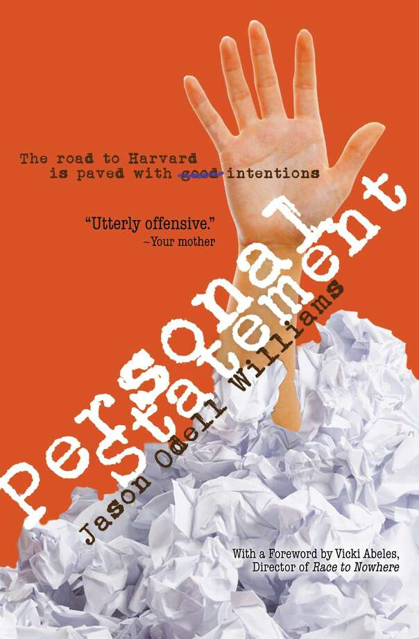 "Jason Odell Williams will talk about his new young adult novel, ""Personal Statement,"" at the Westport Public Library on Tuesday, Oct. 1 at 7:30 p.m. Photo: Contributed Photo"