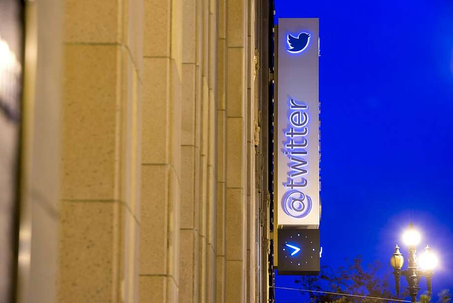 Twitter, the San Francisco microblogging service, is expected to go public sometime in November. Photo: David Paul Morris, Bloomberg
