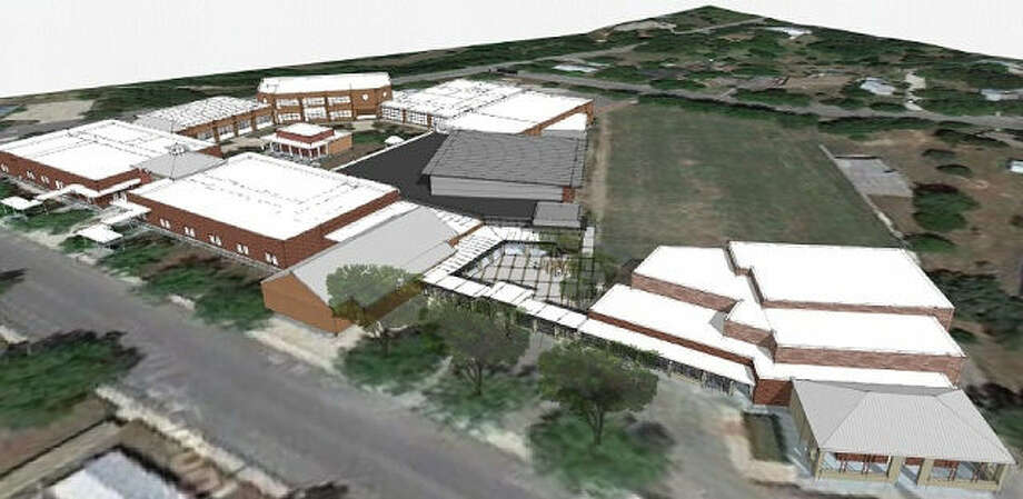 Boerne Middle School South, with enrollment now at full capacity, will see construction that will add nine new classrooms and nine new science labs. Photo: Courtesy Photo