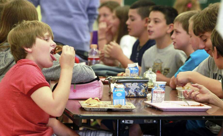 Many schools are offering healthier lunches. The next goal — fundraisers that don't promote junk food. Photo: Associated Press File Photo