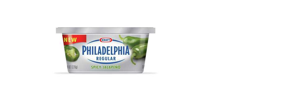 Kraft Philadelphia cream cheese Spicy Jalapeno flavor Photo: Kraft