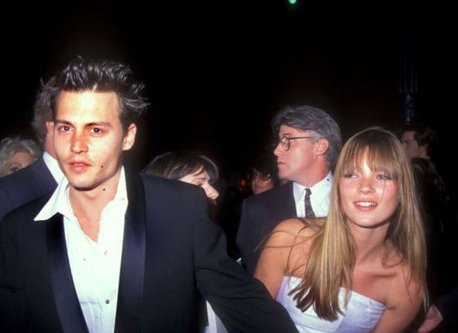 Kate Moss and Johnny Depp, 1995. Photo: Barry King, WireImage / WireImage
