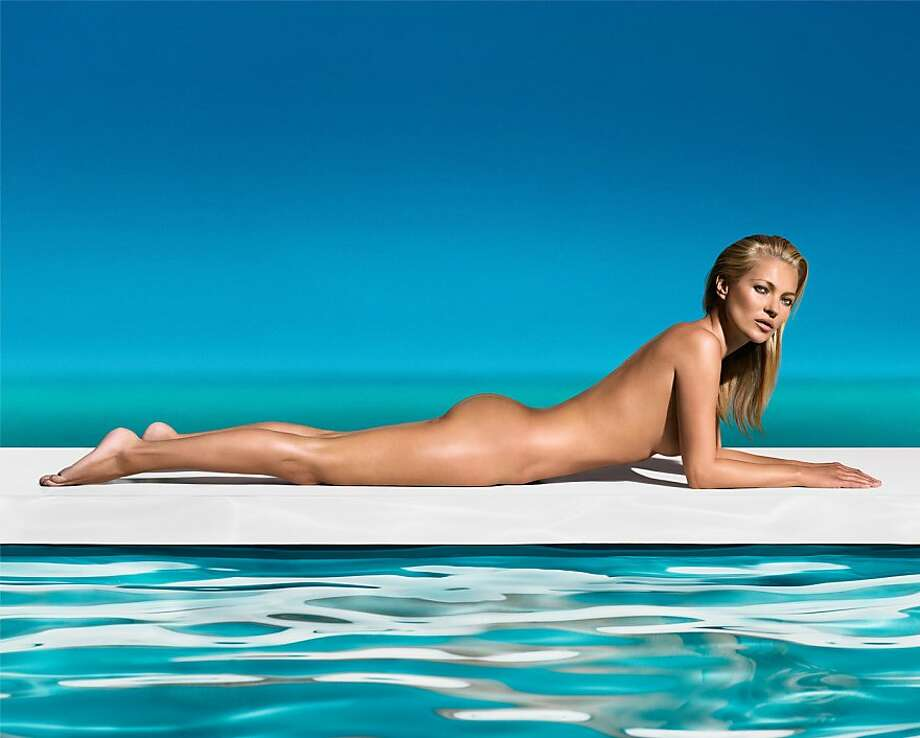 "In May of 2023, St. Tropez announced that Kate Moss will be its new ""brand ambassador"" for the company's line of self-tanning products. St. Tropez handed out this image with the announcement. Photo: St. Tropez / St. Tropez, Getty Images"
