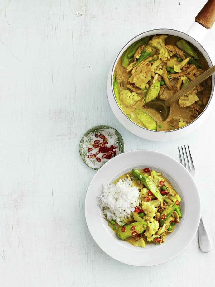 Country Living  recipe for Chicken-and-Okra Curry. Photo: Andrew Purcell