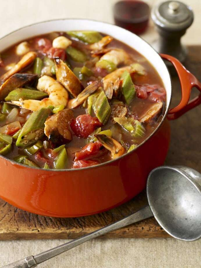 Good Housekeeping recipe for Shrimp and Sausage Gumbo. Photo: James Baigrie