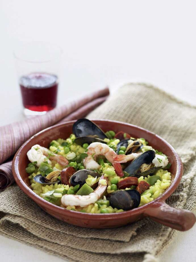Good Housekeeping recipe for Paella. Photo: Kate Mathis