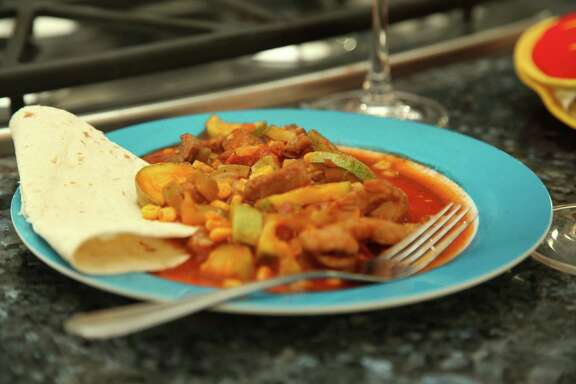 "Among the recipes featured on the premiere episode of ""Comida Caliente"" is Calabazita."