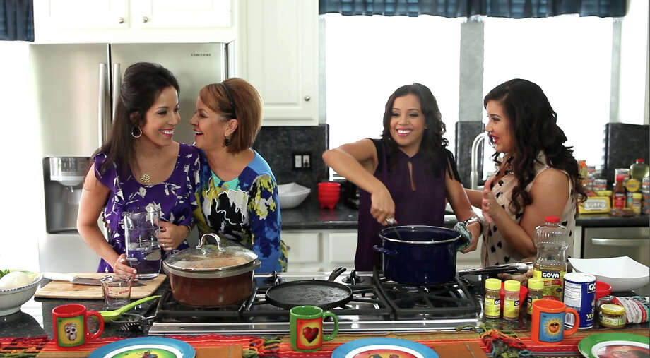 """Comida Caliente,"" which premieres Tuesday on YouTube, features Houstonians Dene Vara and daughters Danielle, Stefani and Dianna. Photo: Courtesy Photo"