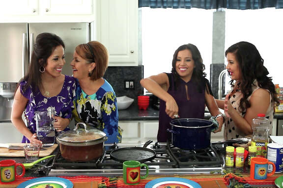 """Comida Caliente,"" which premieres Tuesday on YouTube, features Houstonians Dene Vara and daughters Danielle, Stefani and Dianna."