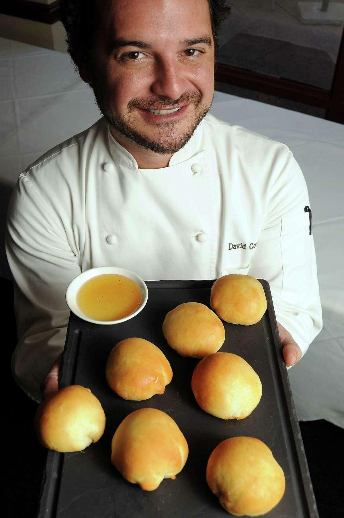 Chef David Cordua's chorizo kolaches at Churasso's on Westheimer Thursday Sept. 12, 2013.(Dave Rossman photo)