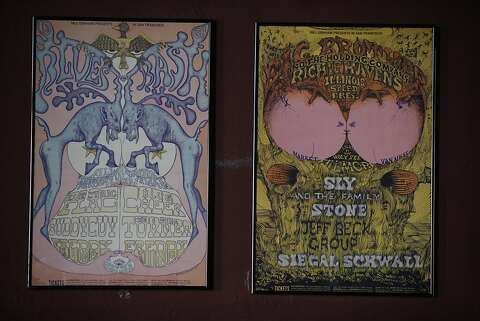 Fillmore's Poster Room filled with walls of sound - SFGate
