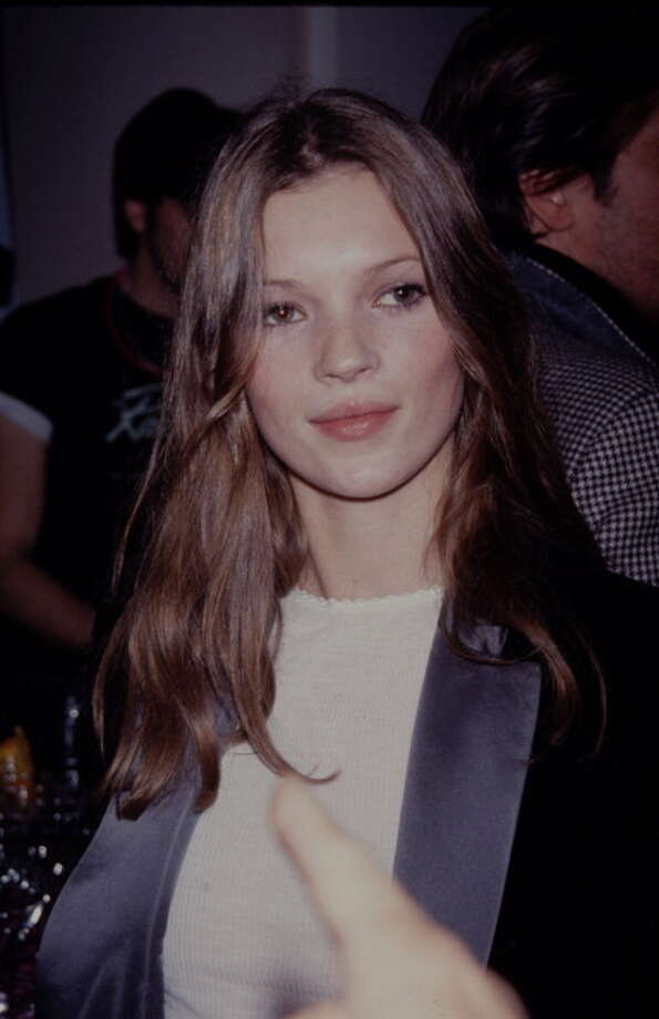 Kate Moss started modeling as a teen in the late '80s, at a time when the industry was dominated by taller and more bosomy models. (Photo: Late '80s or early '90s). Photo: Time & Life Pictures, Time Life Pictures/Getty Images / Time & Life Pictures