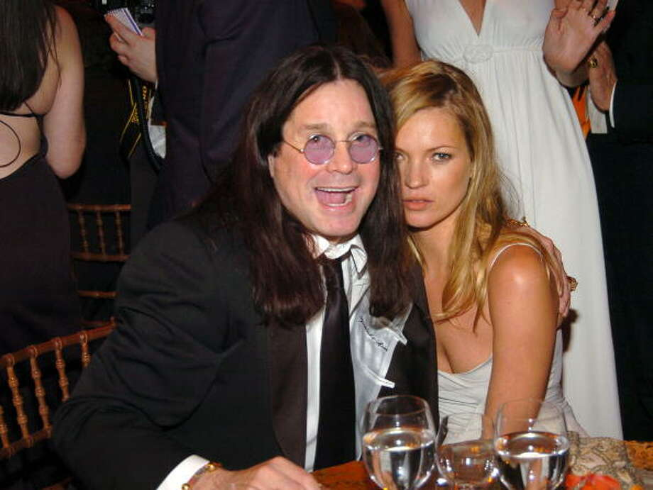 Hanging with Mr. Crazy Train himself, 2004. Photo: Kevin Mazur / WireImage