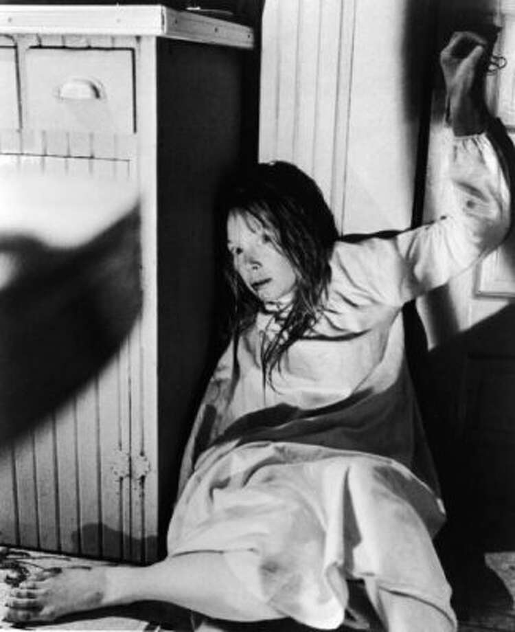 """6. """"Carrie""""(1976): Also known as mean girls who had it coming. If the pig blood, flying knives, burning gymnasium, and Sissy Spacek's darting eyes didn't freak you out, the grave scene surely did. Photo: United Artists / Getty Images"""