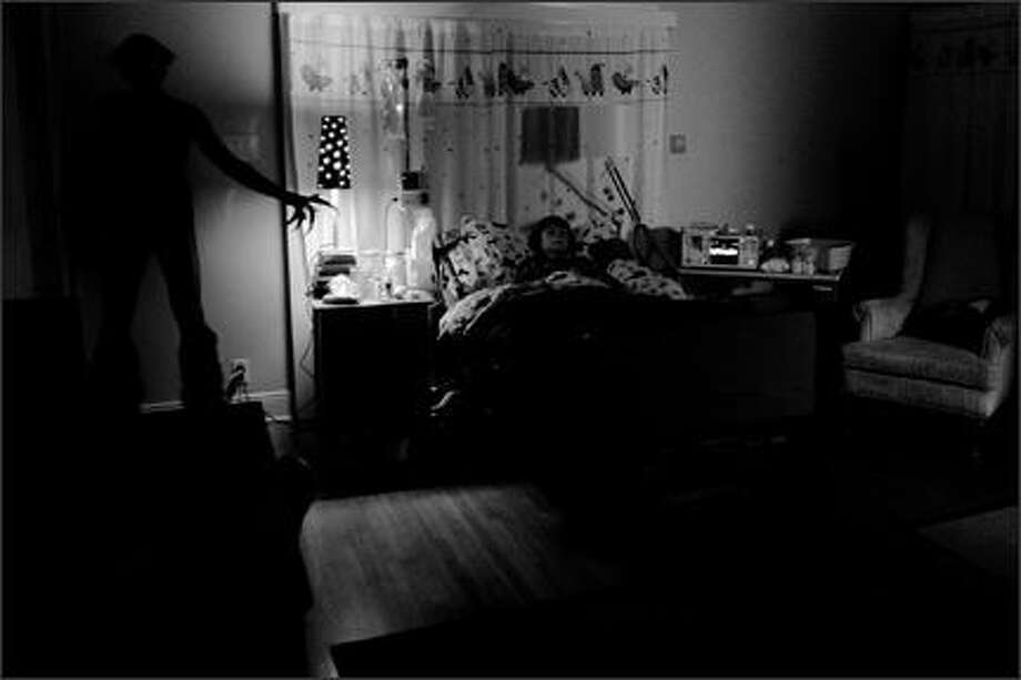 """12. """"Insidious""""(2011):  Boy falls into coma, parents get stressed out, baby monitor captures creepy sounds, shadowy demon thing appears. A scary haunted-house movie from the makers of """"Saw"""" and """"Paranormal Activity."""" Photo: ."""