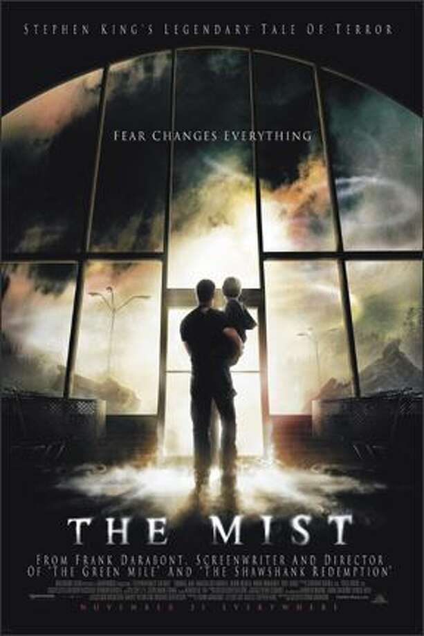 "28. ""The Mist"" (2007): Water droplets shroud a small town in evil. Rotten Tomatoes gives this movie a a 74 percent rating and says ""impressive camerawork and (a) politically incisive script make ""The Mist"" a truly frightening experience."" Photo: Weinstein Co."