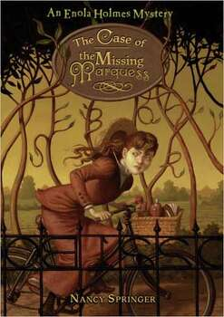 """The Case of the Missing Marquess"" by Nancy Springer – A school librarian removed this book from a required reading list due to sex education-related content."