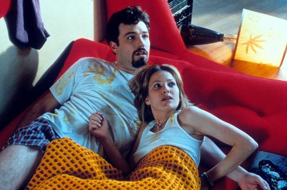 Affleck starred with Joey Lauren Adams in Kevin Smith's 1997 film, 'Chasing Amy.' Adams played Simone Kerr in `Dazed.' Photo: Archive Photos, Getty Images