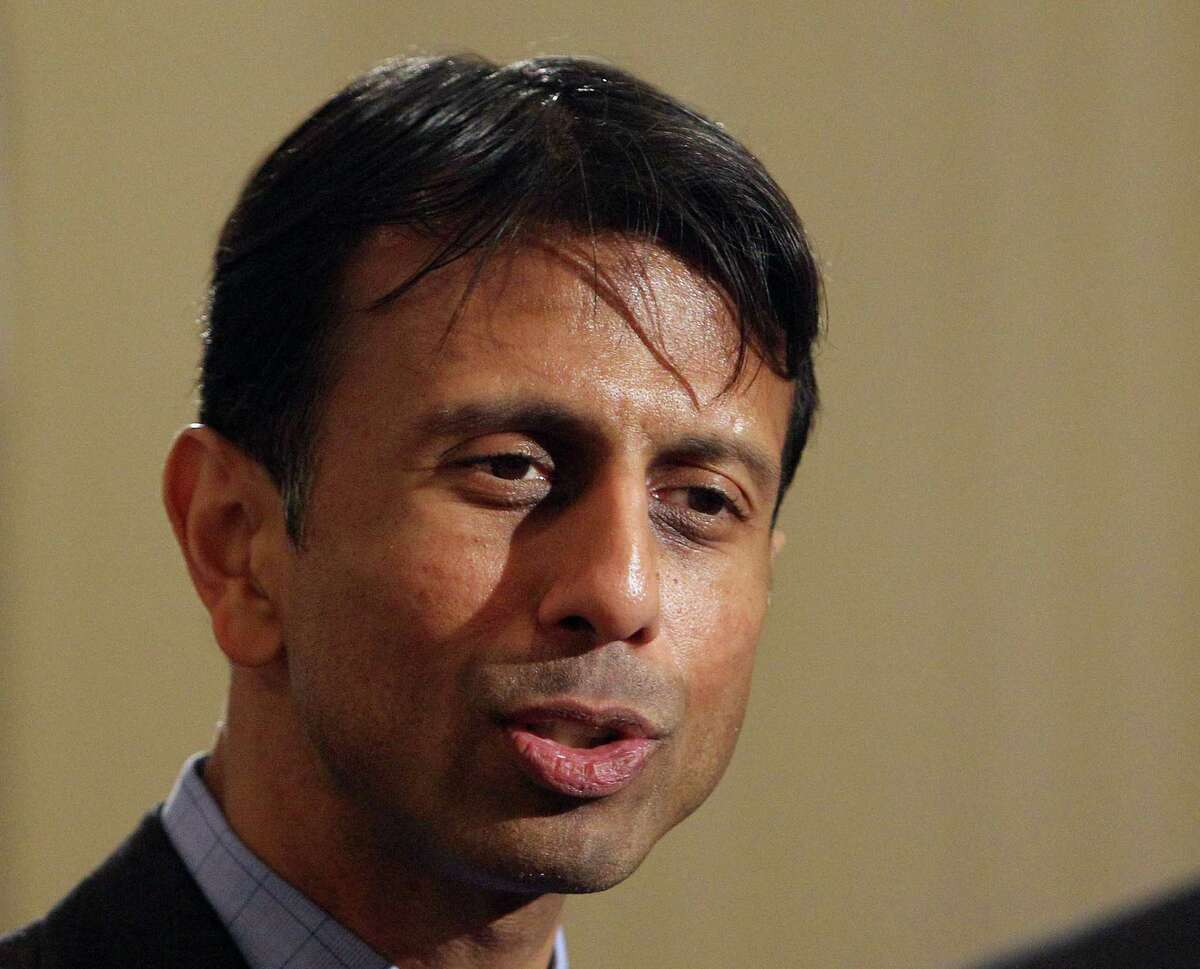 In this May 10, 2013 file photo, Louisiana Gov. Bobby Jindal speaks in Manchester, N.H.