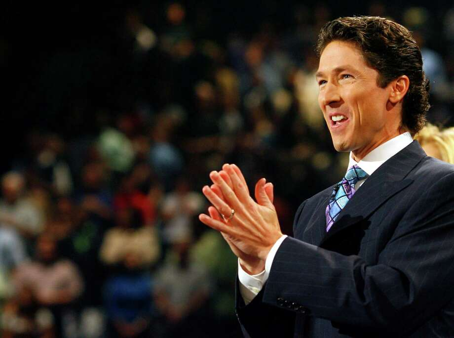 """Life does try to push you down,"" Lakewood Church's Joel Osteen says. ""It's important to say, 'I am equipped, and I am empowered.' "" Photo: Steve Ueckert, Staff / Houston Chronicle"
