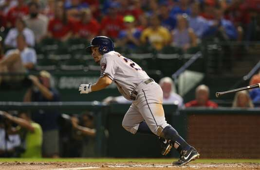 Sept. 24: Rangers 3, Astros 2  Houston was not mystified like it has been by Rangers pitcher Yu Darvish, but the Astros couldn't secure their early lead.  Record: 51-107. Photo: Ronald Martinez, Getty Images