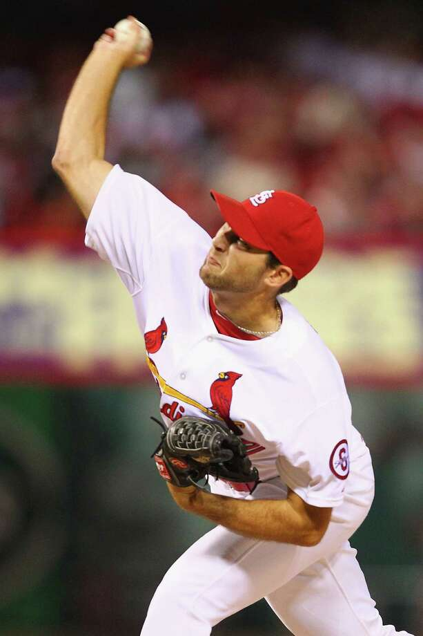 ST. LOUIS, MO - SEPTEMBER 24:  Starter Michael Wacha #52 of the St. Louis Cardinals pitches against the Washington Nationals in the first inning at Busch Stadium on September 24, 2013 in St. Louis, Missouri.  (Photo by Dilip Vishwanat/Getty Images) ORG XMIT: 163495738 Photo: Dilip Vishwanat / 2013 Getty Images