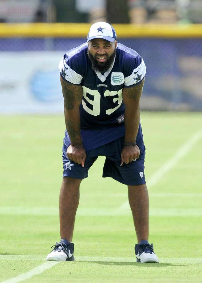Defensive end Anthony Spencer had missed two of Dallas' three games with a knee injury.