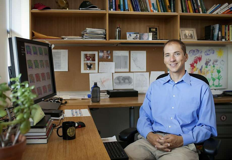 David Lobell, agricultural ecologist at Stanford. Photo: Associated Press