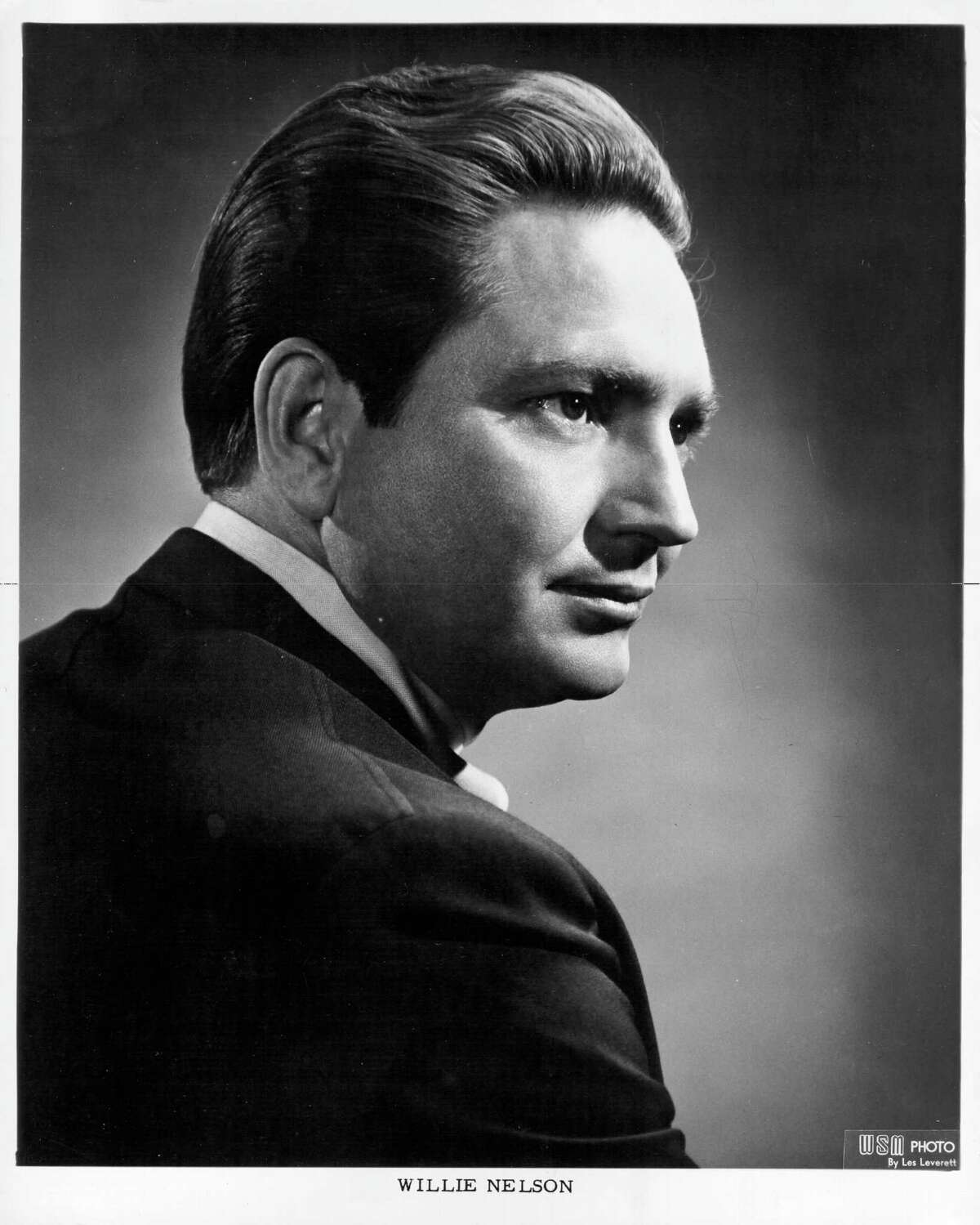 Beardless Willie: An early publicity still for Willie Nelson circa 1965. Nelson wrote some of his best songs in the 1960s, but his albums -- often overproduced with strings -- didn't sell well.