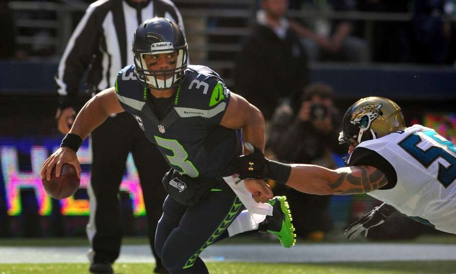 2. Seahawks (3-0) Last week: 2Since the merger in 1970, Russell Wilson is the fifth quarterback to begin his career with 10 consecutive victories at home. Photo: Steve Dykes, Getty Images