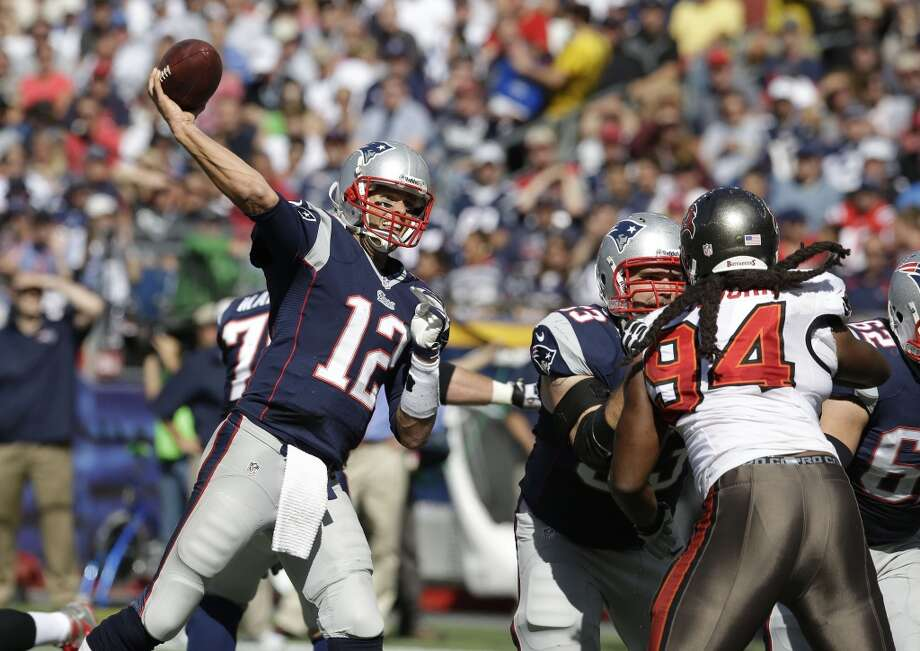 3. Patriots (3-0) Last week: 5The Patriots led the NFL in red zone touchdowns last season. This season, they rank last, scoring touchdowns at a 30.8 percent clip. Photo: Stephan Savoia, Associated Press