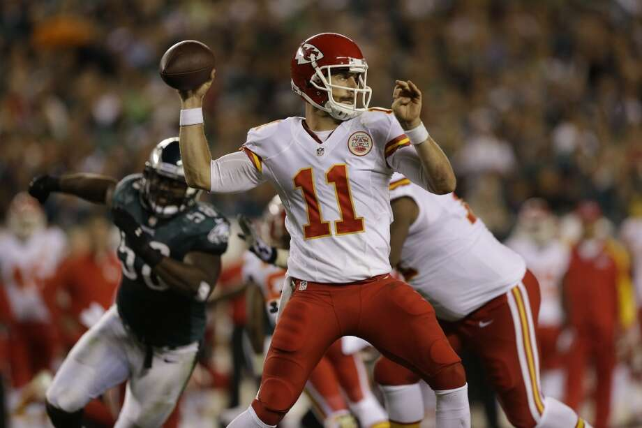 6. Chiefs (3-0) Last week: 11  The Chiefs are one of two teams (Tennessee) to not commit a turnover. They lead the NFL with a plus-9 turnover ratio. Photo: Julio Cortez, Associated Press