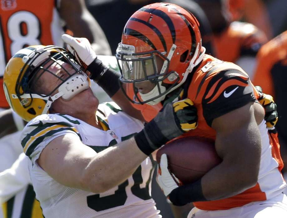 12. Bengals (2-1) Last week: 15  After leading Green Bay 14-0, the Bengals allowed 30 consecutive points before scoring the last 20 and defeating the Packers 34-30. Photo: Mark Hoffman, MCT
