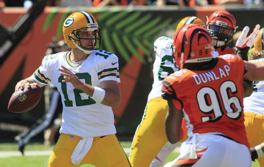 15. Packers (1-2) Last week: 9The Packers have a losing record because they're having problems keeping opponents out of their end zone. They're allowing 29.2 points a game. Photo: Tom Uhlman, Associated Press