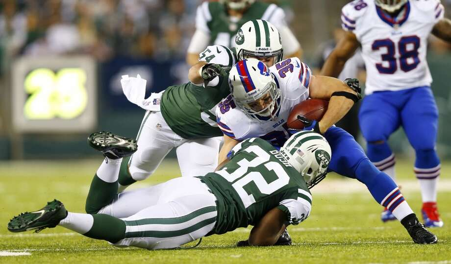 18. Jets (2-1) Last week: 23  One reason the Jets are the most surprising 2-1 team in the league is they lead the NFL at preventing red zone touchdowns (22.2 percent). Photo: Rich Schultz, Getty Images