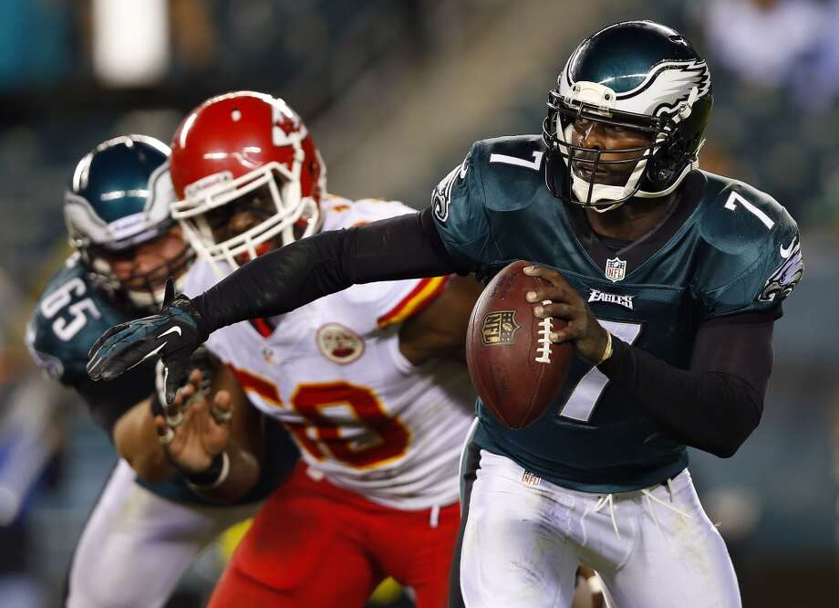 19. Eagles (1-2) Last week: 10  Chip Kelly's fast-paced offense can't use the clock, and even worse for the Eagles is their defense is having trouble stopping anybody. Photo: Rich Schultz, Getty Images