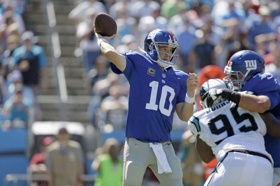 27. Giants (0-3) Last week: 24  The Giants are winless because they've committed a league-high 13 turnovers, and they're allowing a league-high 38.3 points a game. Photo: Bob Leverone, Associated Press