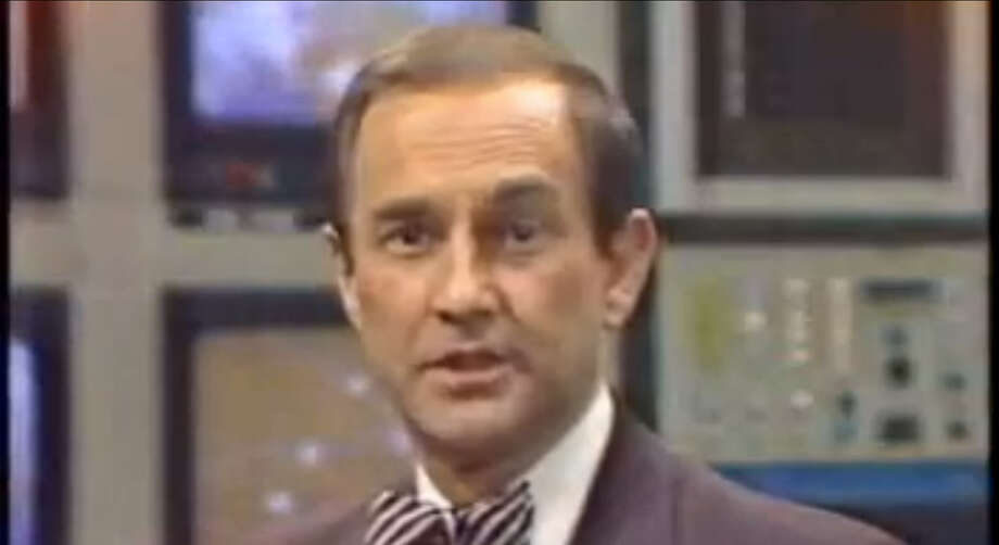 """Though he is far more known for his 31-year tenure as Dallas WFAA-TV's chief meteorologist, Troy Dungan was also here in Houston at ABC 13 KTRK-TV. He joined the """"Eyewitness News"""" team in 1968 before leaving for Philadelphia's WCAU-TV in 1972. He has now since retired, but still does freelance appearances on TV, radio and print from time to time. Photo: YouTube"""