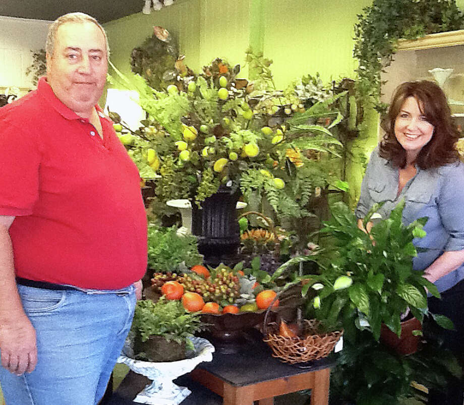 Dave Sierman, who owned the former Blossoms Floral Design in Westport, and Kathy Hayes, owner of Daileyís Flower Shop in Fairfield, have merged their businesses at the Dailey's location at  2151 Black Rock Turnpike in Fairfield. Photo: Contributed Photo / Fairfield Citizen contributed