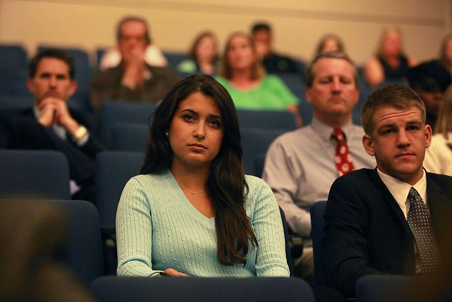 Jacqueline Monetta, 17, whose best friend committed suicide, attends a state Senate meeting on suicide strategies. Photo: Liz Hafalia, The Chronicle