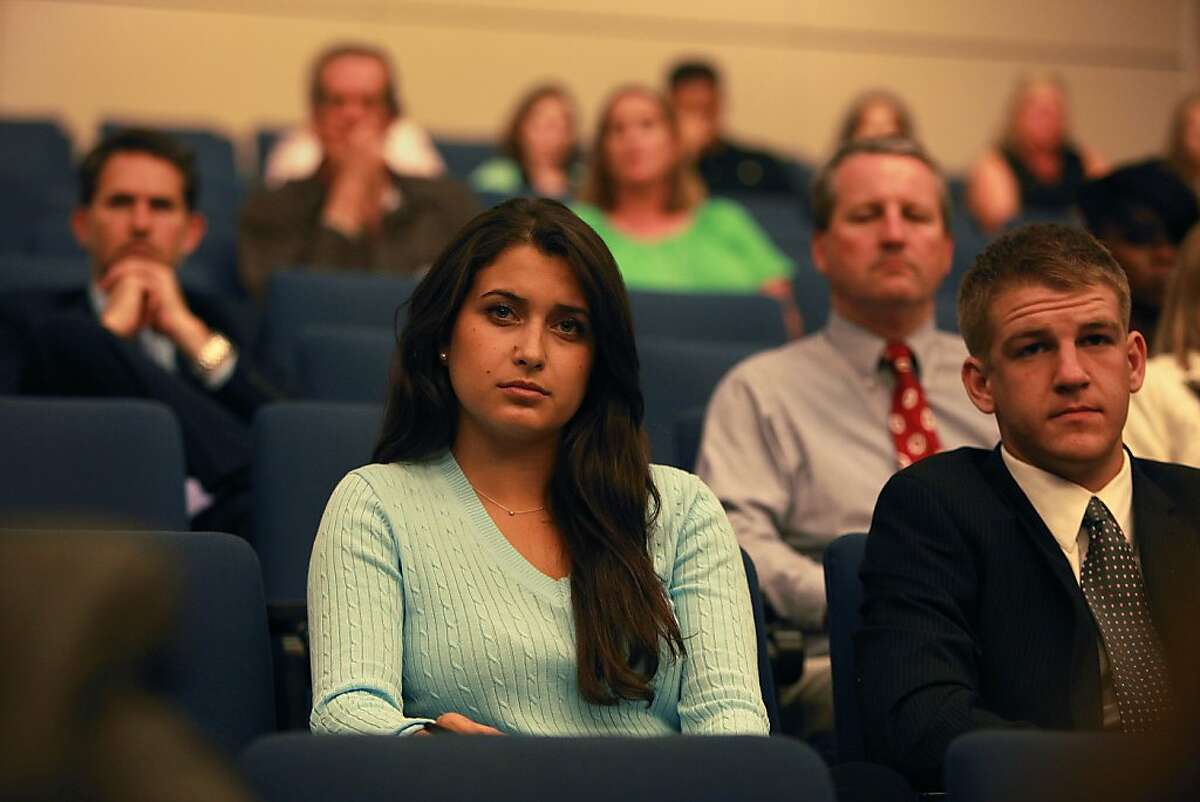 Jacqueline Monetta, 17, whose best friend committed suicide, attends a state Senate meeting on suicide strategies.