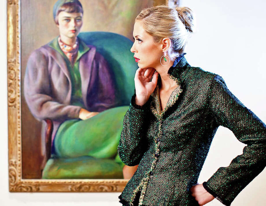 Fashion DesignerJennifer Butler, who moved her business to the Sportsplex, will be presenting her fall collection in a runway show to benefit the Farifield Public Library. Photo: Contributed Photo / Fairfield Citizen