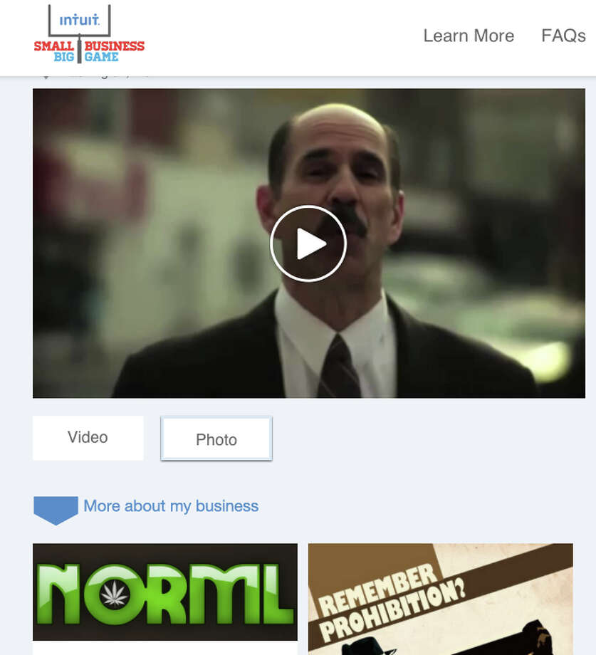 NORML's updated pitch in Intuit's contest for small businesses. NORML has made the second round in the contest after getting the most votes.